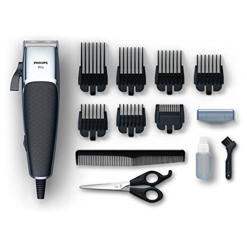 chollos oferta descuentos barato Philips HC5100 15 Cortapelos Profesional con 7 peines guía Cuchillas afiladas para un Afeitado apurado y preciso Plata