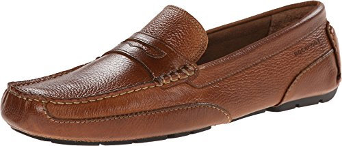 Rockport Oaklawn Park Tan Loafers & Slip Ons Mens Casual Shoes Size 12 New -
