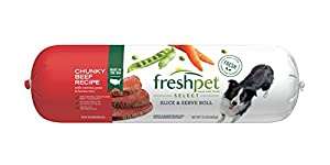 Freshpet Select Chunky Beef,Vegetable& Rice Dog Food, 1.5 lb