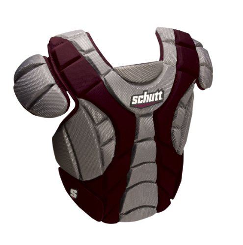 Schutt Sports Scorpion Chest Protector for Softball, Maroon, 12-Inch by Schutt