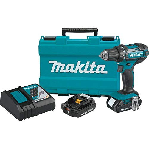 Volt Compact Lithium Ion Driver - Makita XFD10R 18V Compact Lithium-Ion Cordless 1/2