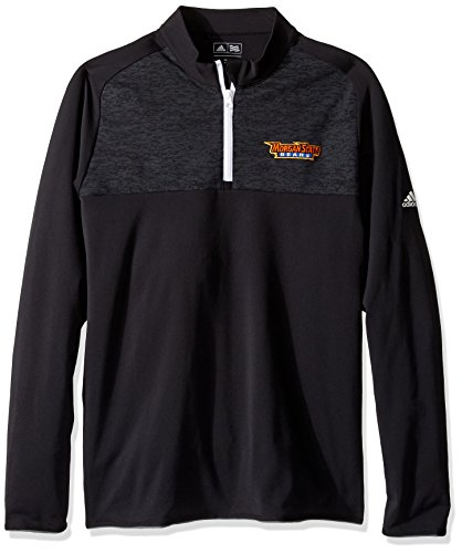Adidas Morgan State Bears - adidas NCAA Morgan State Bears Men's Logo Climawarm 2 Layering Pullover jacket, Large, Black