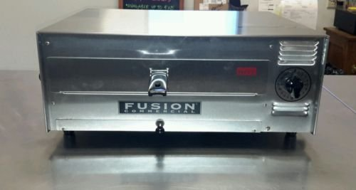 """Fusion 12"""" Stainless Steel Commercial Pizza and Snack Oven"""