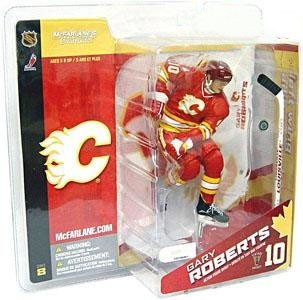 McFarlane NHL Series 8 Gary Roberts Calgary Flames VINTAGE Chase Variant rot by Unknown