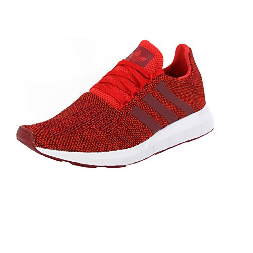 adidas Swift Run, Scarpe da Fitness Uomo Rosso/Bianco (Rojo/Buruni/Ftwbla)