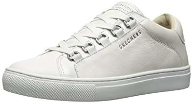 Skecher Street Women's Side Street-Core-Set Sneaker, Blanco