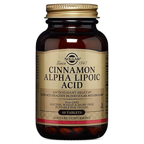 Solgar - Cinnamon Alpha Lipoic Acid, 60 Tablets