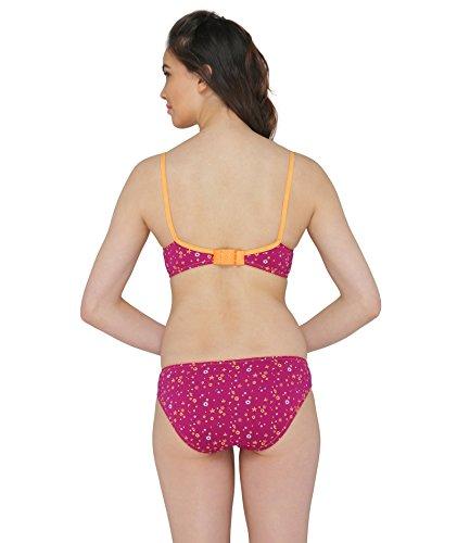 c2d7173021 Valentine Women s Rani Color Bra-Panty  Amazon.in  Clothing   Accessories