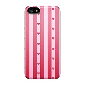 SuperMaryCases Iphone 5/5s Hybrid Tpu Case Cover Silicon Bumper 2012 Happy Valentine Day 56