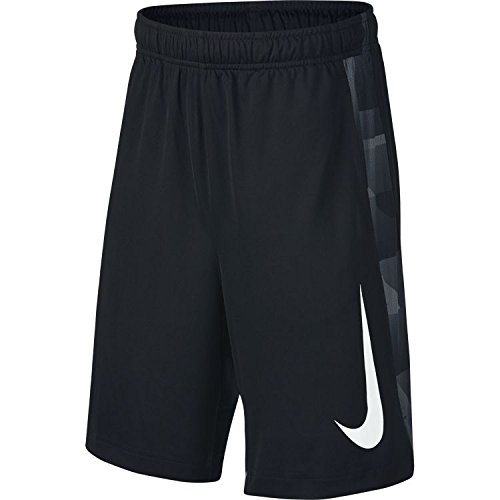 NIKE Boys Dri-Fit GFX Legacy Shorts (Black, Large) by NIKE