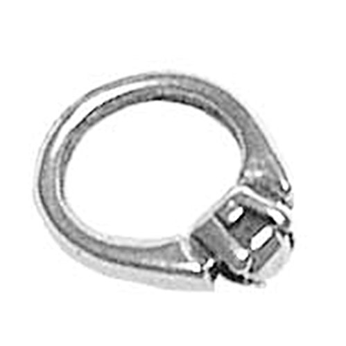 925 Sterling Silver Sweet Charming Wedding Marriage Solitaire Ring Charm Pendant