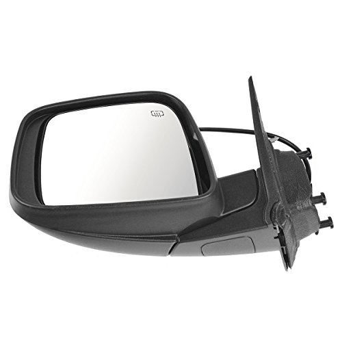 Mirror Power Heated LH Left Driver Side for 11-17 Dodge Durango ()