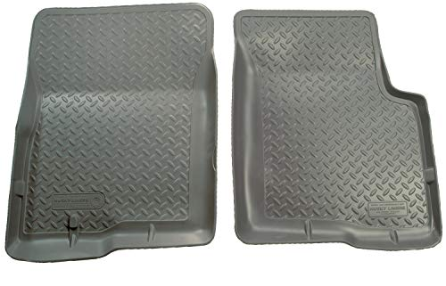 Husky Liners Fits 2001-04 Toyota Tacoma Double Cab Classic Style Front Floor Mats,Grey,35452