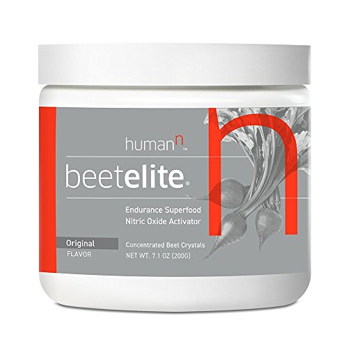 HumanN BeetElite | Superfood Concentrated Beet Powder Nitric Oxide Boosting Athletic Endurance Supplement (Original Apple Flavor, 7.1-Ounce, 1-Pack)