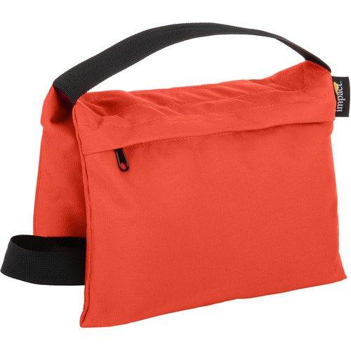 Impact Saddle Sandbag (15 lb, Orange)(6 Pack) by Impact