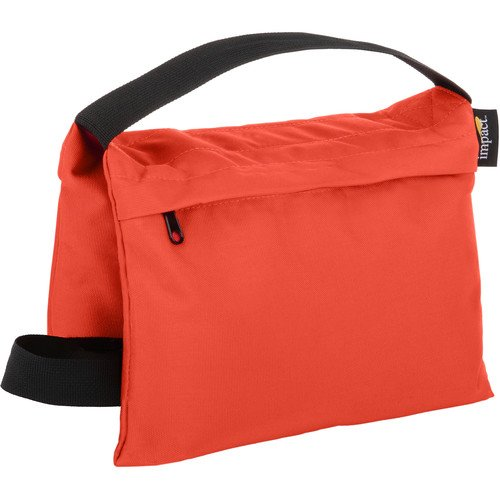 Impact Saddle Sandbag (15 lb, Orange)(6 Pack) by Impact