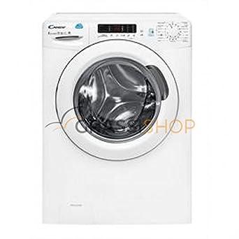 Candy CSW 485D-01 Independiente Carga frontal A Blanco lavadora - Lavadora-secadora (Carga frontal, Independiente, Blanco, Izquierda, Botones, ...