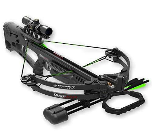 Barnett 4 x 32 Scope Quad Edge Crossbow, Black, Regular