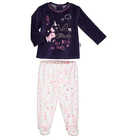 064db7f5d060a Pyjama bébé velours avec pieds Lili - Taille - 9 mois (74 cm ...