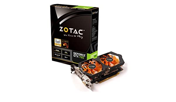 Zotac ZT-70405-10P GeForce GTX 760 2GB GDDR5 - Tarjeta ...