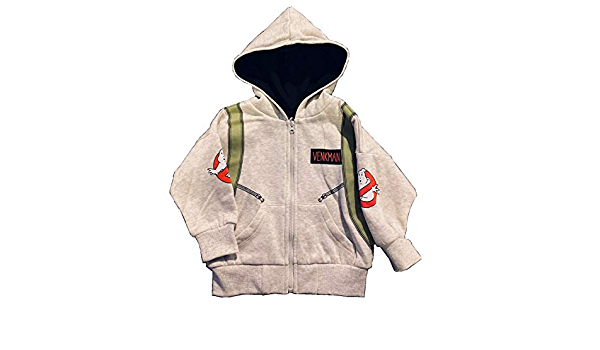Ghostbusters hoodie photon boys girls toddler infant full zip sweater