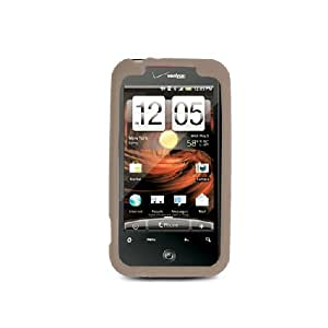 HTC Droid Incredible 2 6350 Gray Soft Silicone Gel Skin Cover Case