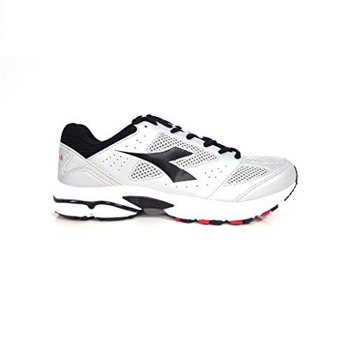 Diadora Shape 4 - Sneakers Unisex adulto C1053 GRIGIO/NERO