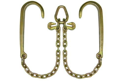 Long J-hook (BA Products N711-8 V Chain, G70, Long J Hook)