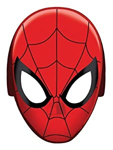 how to draw spider man mask