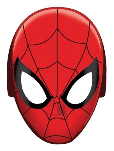 Amscan Spider-Man Hats/Masks, 8 Count, Party Supplies -