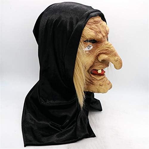 Halloween Masker Halloween Horror Heks Masker Nun Masker Maagd Maria Nuns Kostuum Rollenspel Mask