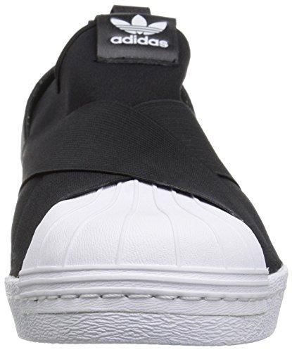 adidas Originals Womens Superstar Slipon W Sneaker Black/Black/White cfBi1qDm