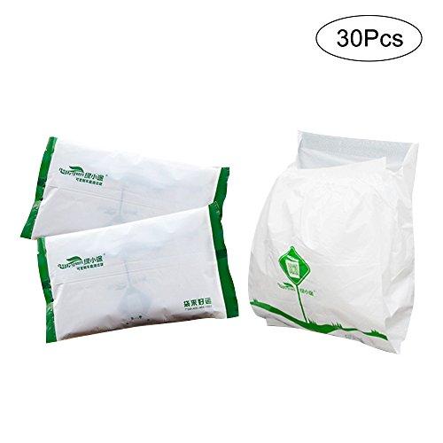 Brown Paper Rubbish Bags - 6
