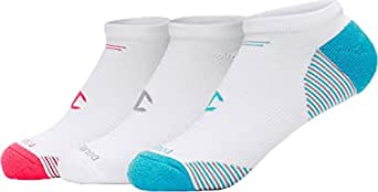 Champion Women Sweat-Free Comfort No-Show Training Socks 3-Pack_Asrtmnt 1_ 5-9