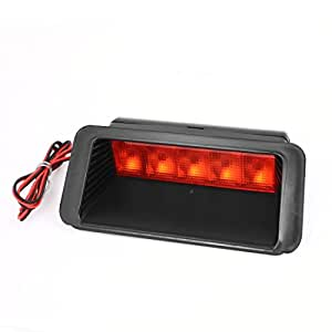 Vehículo Auto 5 LED rojo de la cola de copia de seguridad de luz de freno Encendido de luz Blub 12V