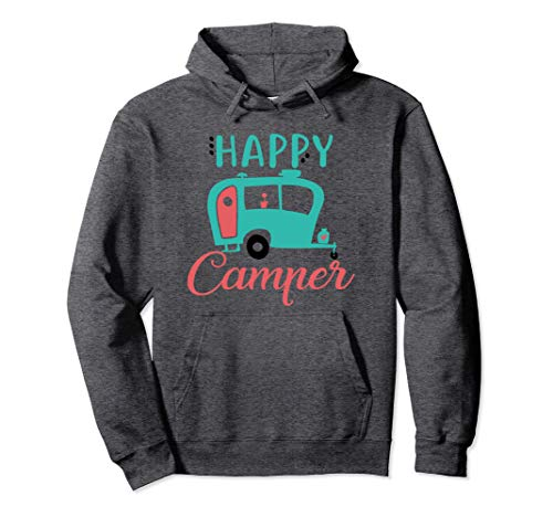 Happy Camper T-Shirt T-Shirt Funny Camping Gift Idea Shirt