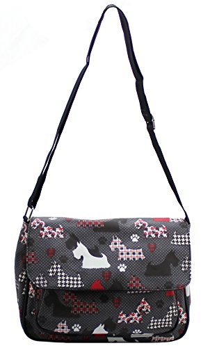 Lilly Dogs Black Mujer Print amp; Jane Bolsos niña rXw8OaYrq