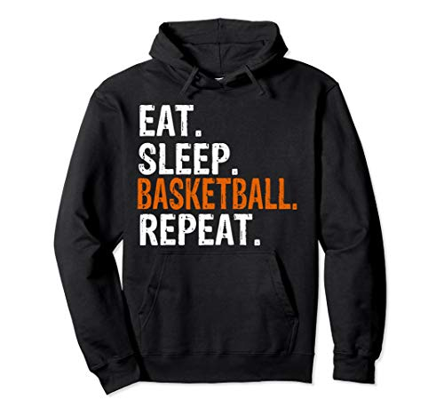(Eat Sleep Basketball Repeat Gift Hoodie)