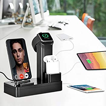 Amazon.com: 3 in 1 Charging Stand for Apple, Apple Watch