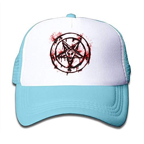 Kids Baseball Cap Pin Pentagram On Pinterest Dad Hat Adjustable Trucker Hat for Boys Girls