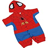 Dressy Daisy Baby Boys' Spiderman Hero Superhero Fancy Party Costume Outfit Size 3-6 Months