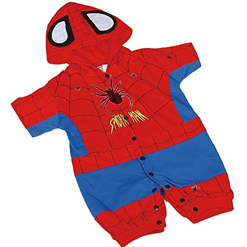 Dressy Daisy Baby Boys' Spiderman Hero Superhero Fancy Party Costume Outfit Size 6-12 Months ()