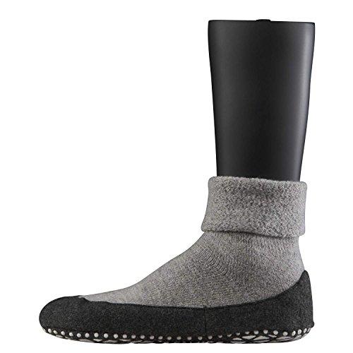 Falke 16560 Cosyshoe Socke - Calcetines cortos para hombre gris claro