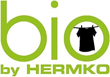 HERMKO 94880 2er Pack Herren Bio Kurzarm Business Unterhemd