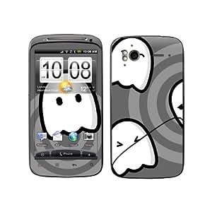 Diabloskinz B0065 - 0016-0004 Grey Ghost vinilo adhesivo para HTC Sensation S