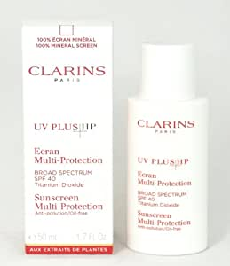 Clarins By Clarins: Uv Plus Hp Sunscreen Multi Protection Spf 40 Anti-pollution/oil-free 1.7 Oz