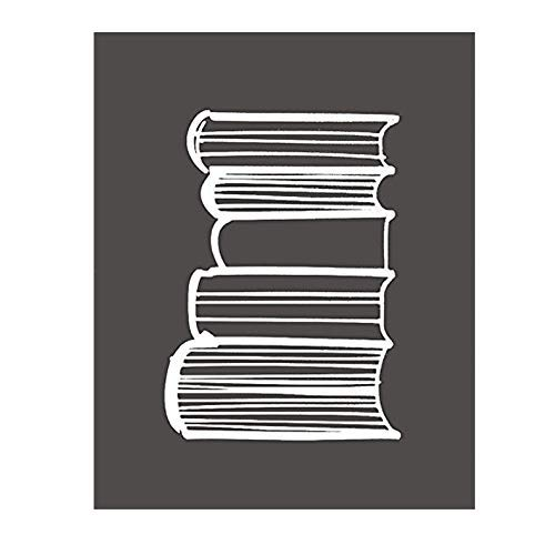 Stack Of Books Library Reading Room Decoration Sign By meijiafei
