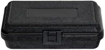 PFC 080-050-023-5SF Plastic Carrying Case 8 x 5 x 2 1//4 Black by PFC