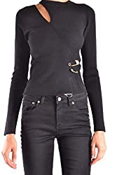 Versus Versace Women S Bd80658bk1035b1008 Black Viscose Sweater