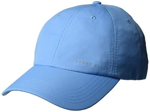 Perry Ellis Men's Performance Baseball Cap, Light Blue, OSFA